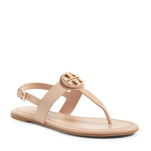 """🆕Tory Burch """"Bryce"""" Thong Sandal in Makeup Color"""